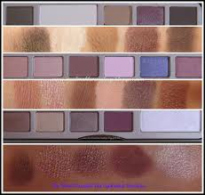 Color swatches for the Too Faced Chocolate Bar Palette!