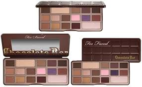 Very cool color selection in the Too Faced Chocolate Bar Pallette!