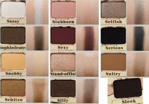 The Balm 'Nude 'Tude eye shadow palette.